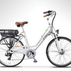 Bicicleta electrica cu cadru Aluminiu ZT-77 M LETIZIA-M, 20 inch, 28 inch, Numar viteze: 3