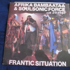 Afrika Bambaataa & Soulsonic Force - Frantic Situation _vinyl, 12