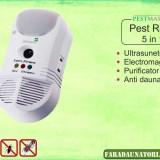 Aparat anti daunatori si purificator de aer Pestmaster 5in1