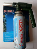 LAMPA cu GAZ   ARZATOR + spray cu gaz BUTAN