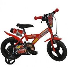 Bicicleta Cars 12 Inch - Bicicleta copii Dino Bikes