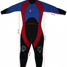 Costum neopren Reactor Pro, barbati, marimea S