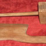 Set ustensile bucătărie din lemn, vintage
