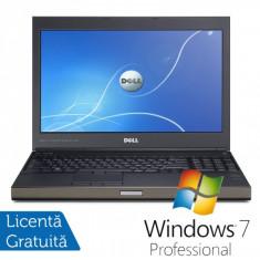 Laptop DELL Precision M4700, Intel Core i7-3540M 3.0GHz, 16GB DDR3, 320GB SATA, DVD-RW, nVidia Quadro K2000M + Windows 7 Professional, Diagonala ecran: 15