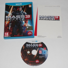 Joc Nintendo Wii U - Mass Effect 3 Special Edition - Jocuri WII U, Role playing, 18+, Single player