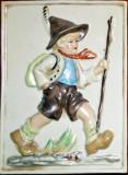 Tirolez - miniatură-tablou porţelan, Seturi