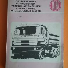 Carte tehnica TATRA 815 in limba rusa / R4P3F - Carti auto