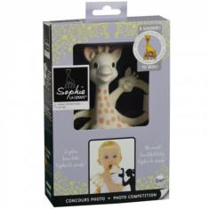 Set Girafa Sophie si Inel Dentitie Editie Limitata - Jucarie dentitie copii