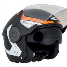 Casca Scooter/Motocicleta bicolora cu ochelari integrati inclusi Zeus H002 - Casca moto, Marime: XL