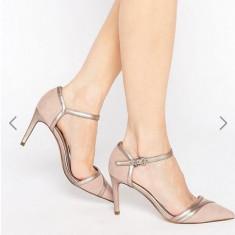 Pantofi ASOS marime 38 - Pantof dama Asos, Culoare: Bej