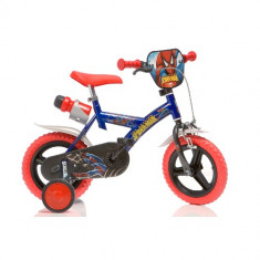 Bicicleta Spiderman 12 inch - Bicicleta copii Dino Bikes