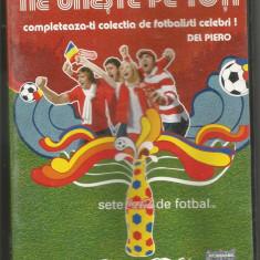 A(01) FOTBALUL NE UNESTE PE TOTI-Del Piero - DVD fotbal