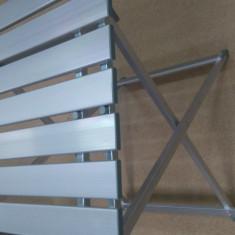 Masa camping aluminiu pliabila NOUA 50x52cm - Masa gradina