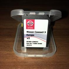 Card NISSAN Connect 3 V2 Original Harti Europa + Romania 2017 - Software GPS