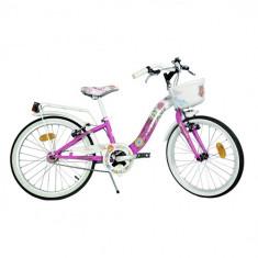 Bicicleta 204R Seria Winx - Bicicleta copii Dino Bikes