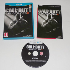 Joc Nintendo Wii U - Call of Duty Black Ops II - Jocuri WII U, Shooting, 18+, Single player