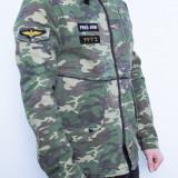 Geaca army slim fit barbati tip zara - Geaca barbati, Marime: Alta, Culoare: Din imagine