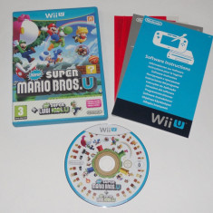 Joc Nintendo Wii U - New Super Mario Bros U + New Super Luigi U - Jocuri WII U, Actiune, 3+, Single player