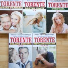 Marie-Anne Desmarest - Torente (5 volume) - Roman dragoste