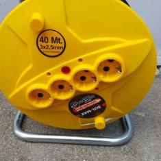 Prelungitor pe tambur cu derulator 40m x 2, 5mm