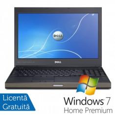 Laptop DELL Precision M4700, Intel Core i7-3540M 3.0GHz, 16GB DDR3, 320GB SATA, DVD-RW, nVidia Quadro K2000M + Windows 7 Home Premium, Diagonala ecran: 15