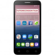 Smartphone Alcatel Pop 3 5065D 5 Inch Dual Sim Quad Core 8 GB 4G Argintiu - Telefon Alcatel