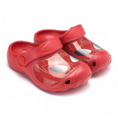 Saboti de plaja Spiderman rosu - Slapi copii