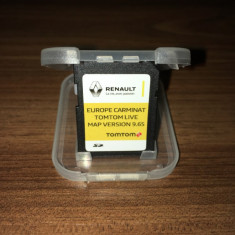 Card TomTom Carminat Live Update 2016 original Europa + Romania 2016 Clio Laguna - Software GPS