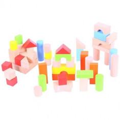 Cuburi Colorate Pentru Construit - Jocuri Logica si inteligenta Bigjigs