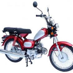 Motocicleta BENZINAcu cadru de otel ZT-70 EEC RETRO - Scuter
