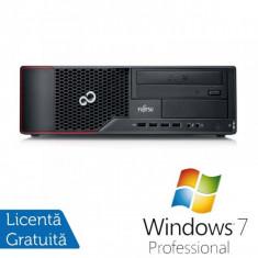 Calculator FUJITSU SIEMENS E710, Intel Core i5-2400 3.10GHz, 4GB DDR3, 250GB SATA, DVD-RW + Windows 7 Professional - POS