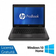 Laptop HP ProBook 6360B, Intel Core i3-2310M 2.10GHz, 4GB DDR3, 320GB SATA, DVD-RW + Windows 10 Home, Diagonala ecran: 13