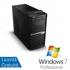 Acer Veriton M421G, AMD Athlon II X2 3.0 Ghz, 2Gb DDR2, 250Gb, DVD-ROM + Windows 7 Professional - Sisteme desktop fara monitor