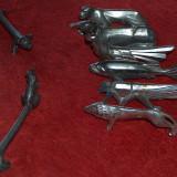 Suporturi pentru tacâmuri din perioada interbelică - Metal/Fonta