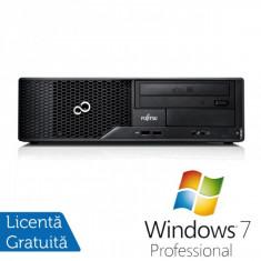 Calculator FUJITSU SIEMENS E510, Intel Core i3-2120 3.30GHz, 4GB DDR3, 500GB SATA, DVD-RW + Windows 7 Professional - POS