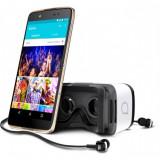 Smartphone Alcatel Idol 4 6055K Dual Sim 5.2 Inch Quad Core 16 GB 4G Gold - Telefon Alcatel