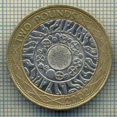 9740 MONEDA -MAREA BRITANIE -2 POUNDS -anul 2002 -starea care se vede, Europa