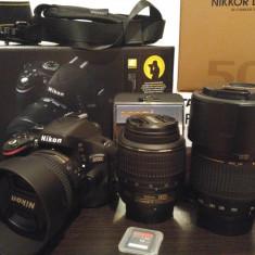 Nikon D5100 cu obiective si accesorii - Aparat Foto Nikon D5100