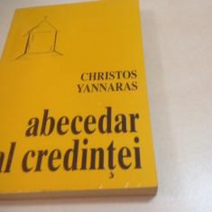CHRISTOS YANNARAS, ABECEDAR AL CREDINTEI. INTRODUCERE IN TEOLOGIA ORTODOXA - Carti ortodoxe