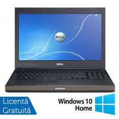 Laptop DELL Precision M4700, Intel Core i7-3540M 3.0GHz, 16GB DDR3, 320GB SATA, DVD-RW, nVidia Quadro K2000M + Windows 10 Home, Diagonala ecran: 15