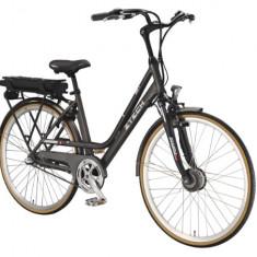ZT-80 - Bicicleta electrica cu cadru Aluminiu - Bicicleta electrice, 20 inch, 28 inch, Numar viteze: 7, Negru