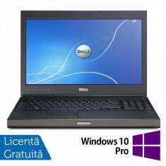 Laptop DELL Precision M4700, Intel Core i7-3540M 3.0GHz, 16GB DDR3, 320GB SATA, DVD-RW, nVidia Quadro K2000M + Windows 10 Pro, Diagonala ecran: 15