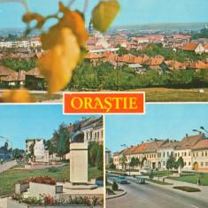 CPI (B8226) CARTE POSTALA - ORASTIE, JUD. HUNEDOARA - Carte Postala Transilvania dupa 1918, Circulata, Fotografie