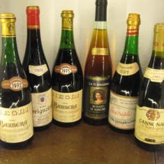 6 rare sticle lotto ( I ) recoltare 1972/1974/1976/1978/1981/1983 - Vinde Colectie, Aroma: Sec, Sortiment: Rosu, Zona: Europa