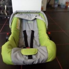 Scoică auto - Scaun auto copii DHS Baby, 0+ (0-13 kg), Opus directiei de mers
