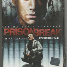 A(01) FILM DVD PRISON BREAK -Evadarea ep 15-16 - Film serial, Actiune, Romana