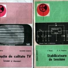 2 cărti de electronica din colecţia radio-tv - Carti Electronica