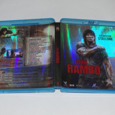 Film Blu-ray bluray Sylvester Stallone John Rambo - Film actiune, Engleza