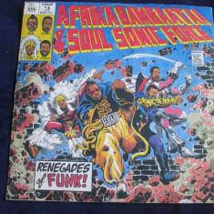 Afrika Bambaataa & Soulsonic Force - Renegades Of Funk ! _ vinyl, 12