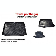 Covor portbagaj tavita Audi A3 8V sportback 2012-> cu roata de rez. AL-151116-20